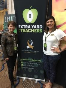 Photo with Diane McKee, 2016 FL Teacher of the Year